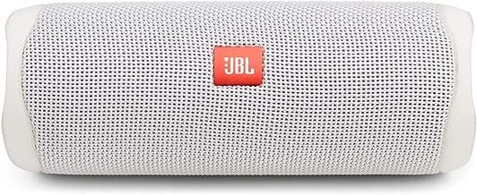 JBL FLIP 5 Waterproof Portable Bluetooth Speaker - White [New Model] - JBLFLIP5WHTAM
