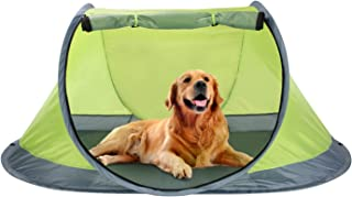 Winterial Outdoor Pop-Up Pet Tent, Dog Tent with 2-Inch Foam Pad, Includes Carry Bag