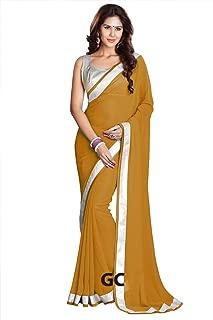 25 Colors Chiffon Bollywood BellyDance Indian Saree Sari