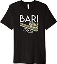 Bari Italia t shirt retro style Italy souvenir clothing