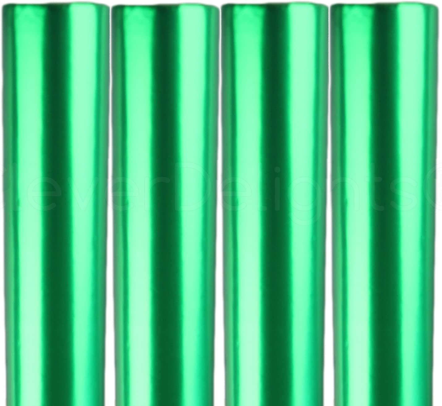 4 Rolls - CleverDelights Metallic Green Paper SALENEW very popular! Wrapping 3 Sale SALE% OFF 30