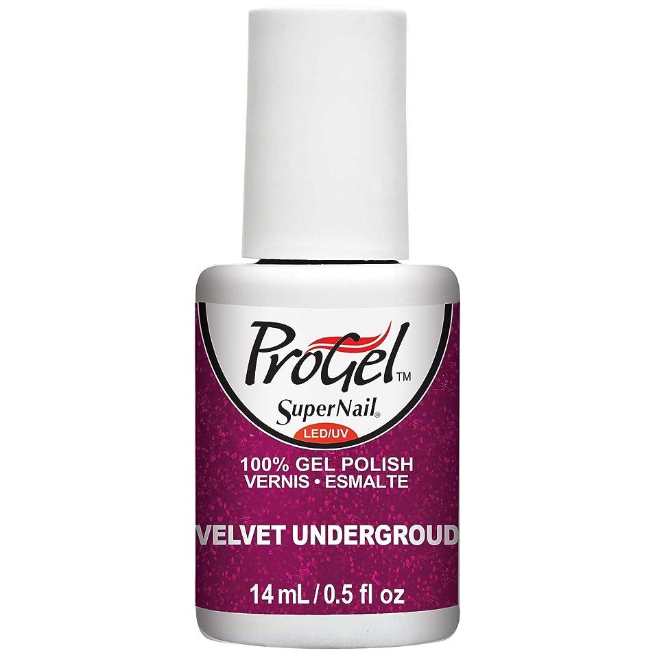 否定する俳句素晴らしいですSuperNail ProGel Gel Polish - Velvet Underground - 0.5oz / 14ml