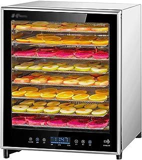 Déshydrateur Alimentaire, Contrôle de la Température 50-80 ° C, Durée de 1-24 Heures, avec 8 Plateaux, Basse Consommation ...
