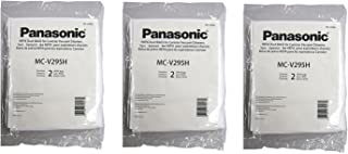 Genuine Panasonic Mc-v295h Type C-19 Synthetic Hepa Vacuum Cleaner Bags / 6 Individual Bags - Genuine Oem Mc-v295h
