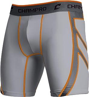 CHAMPRO Wind Up Youth Compression Sliding Shorts