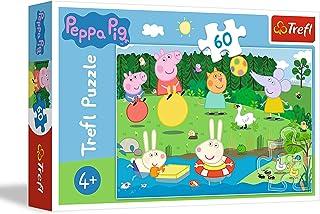 TREFL 60 el. - Ĺwinka Peppa, Wakacyjna zabawa [Puzzle]