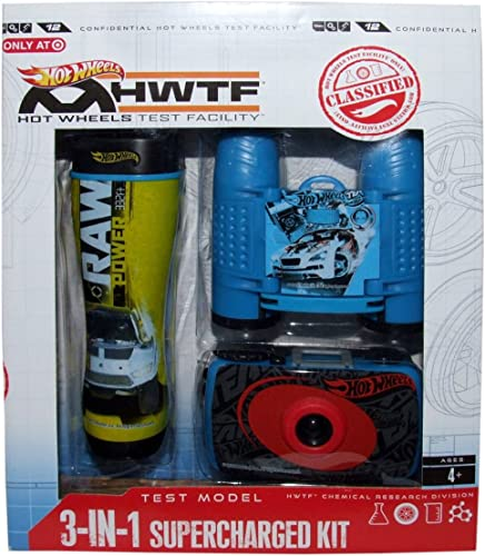 Hot Wheels 3-in-1 Supercharged Kit by Hot Wheels