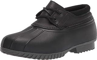Propét womens Ione Rain Shoe, Black, 6 Wide US
