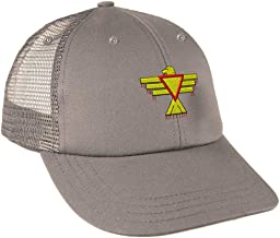 Custom Snapback Baseball Cap Thunderbird Embroidery Design Cotton Mesh Hat Snaps