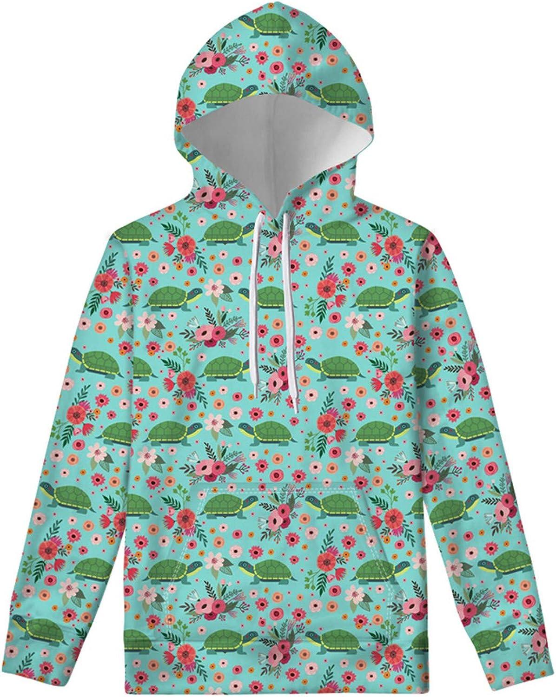 Upetstory Hoodies Novelty Designs Kids Tunic Sweatshirt Drawstring Pullover Tops With Pockets