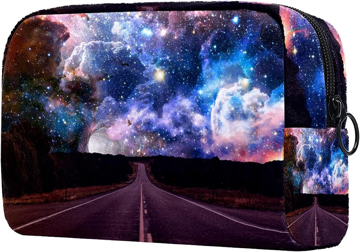Makeup Bag Limited price sale Coin purse road Opening large release sale and galaxy Cosmetic
