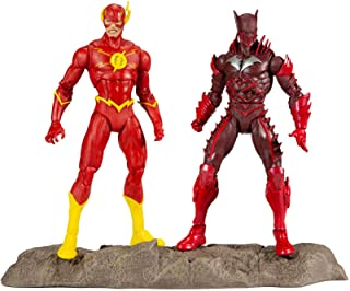 """DC Multiverse Earth -52 Batman (Red Death) and The Flash 7"""" Action Figure Multipack"""