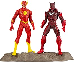 """McFarlane Toys DC Multiverse Earth -52 Batman (Red Death) and The Flash 7"""" Action Figure Multipack"""