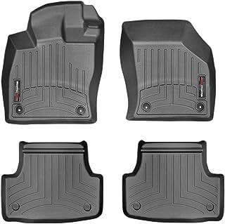 WeatherTech Alfombrilla a Medida para Seat Leon 5F 5 Puertas/ST Wagon 2013-19|Negro|1a y 2a Filas