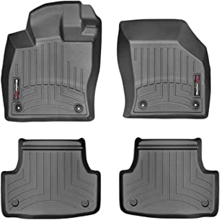WeatherTech Custom Fit FloorLiner - 44496-1-2-1st & 2nd Row (Black)