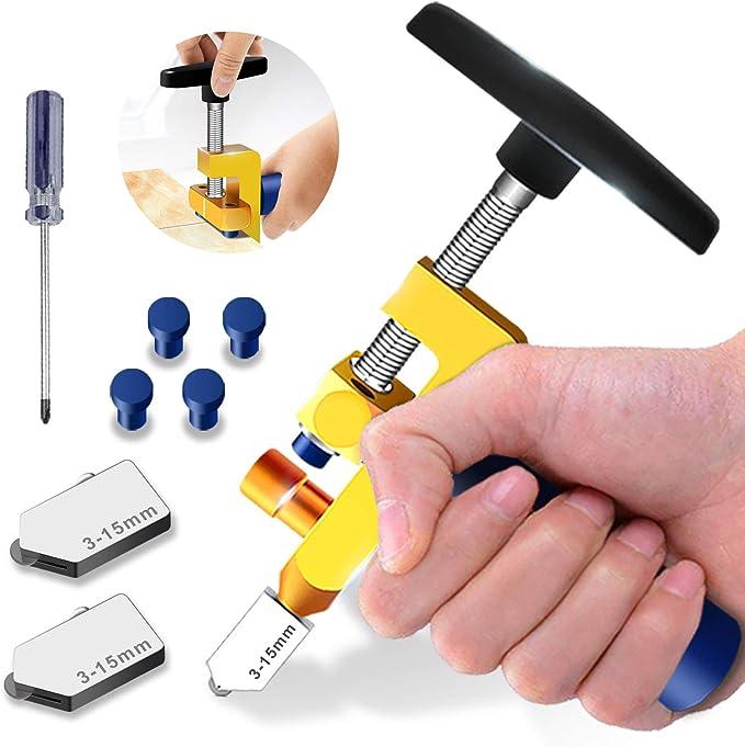 56 opinioni per Kit utensili per il taglio del vetro 2 in 1,alta qualità 3mm-15mm,utensile per