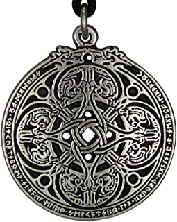 Dragon Shield Celtic Knot Pendant Talisman for Soldiers & Military Members