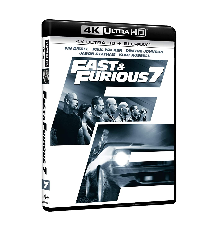 Fast & Furious 7 (4K Ultra HD + Blu-Ray) [Blu-ray]