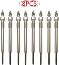 8pcs Diesel Glow Plug for Chevy GMC 6.6L Duramax LB7 & Early Build LLY (2001 2002 2003 2004 2005) Replaces 97226202, 800381113, 97364968, 97326305, DRX0058