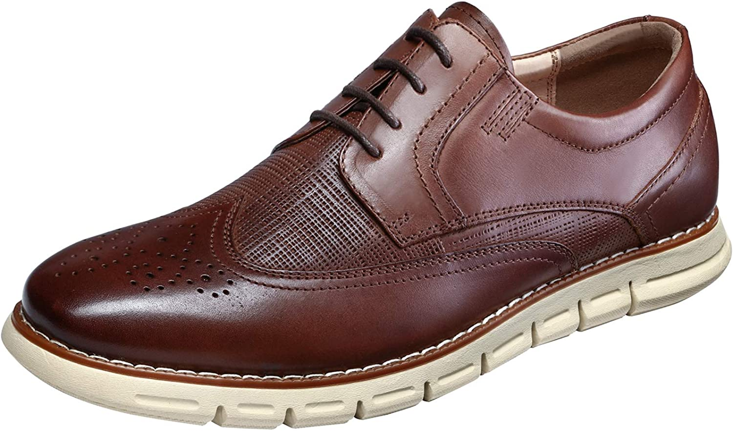 Bruno Marc Men's Oxford Dress Sneakers Tulsa Mall Gifts Shoe Casual Leather