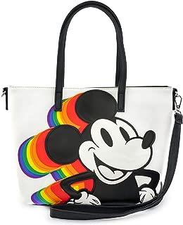 Loungefly x Disney Rainbow Mickey Mouse Convertible Handbag