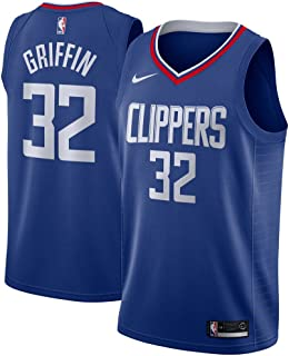 Nike Blake Griffin Los Angeles Clippers NBA Youth Royal Blue Road Swingman Icon Jersey
