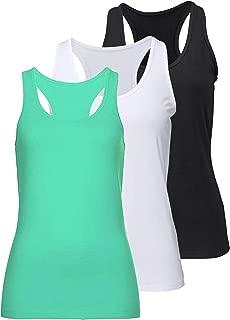 iClosam T-Shirt Femme /à sans Manches D/ébardeur et Tops de Sport Gilet d/ét/é