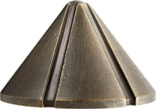 Kichler 15765CBR27 风景壁灯,1 盏灯 LED 2.5 瓦,一年黄铜