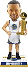 FOCO Stephen Curry Golden State Warriors 2018 NBA Champions BOBBLEHEAD with Trophy