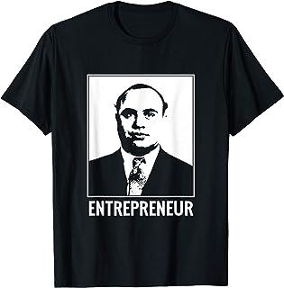 Al Capone アル・カポネ起業家アンクルギャングスタービジネスマンボス Tシャツ
