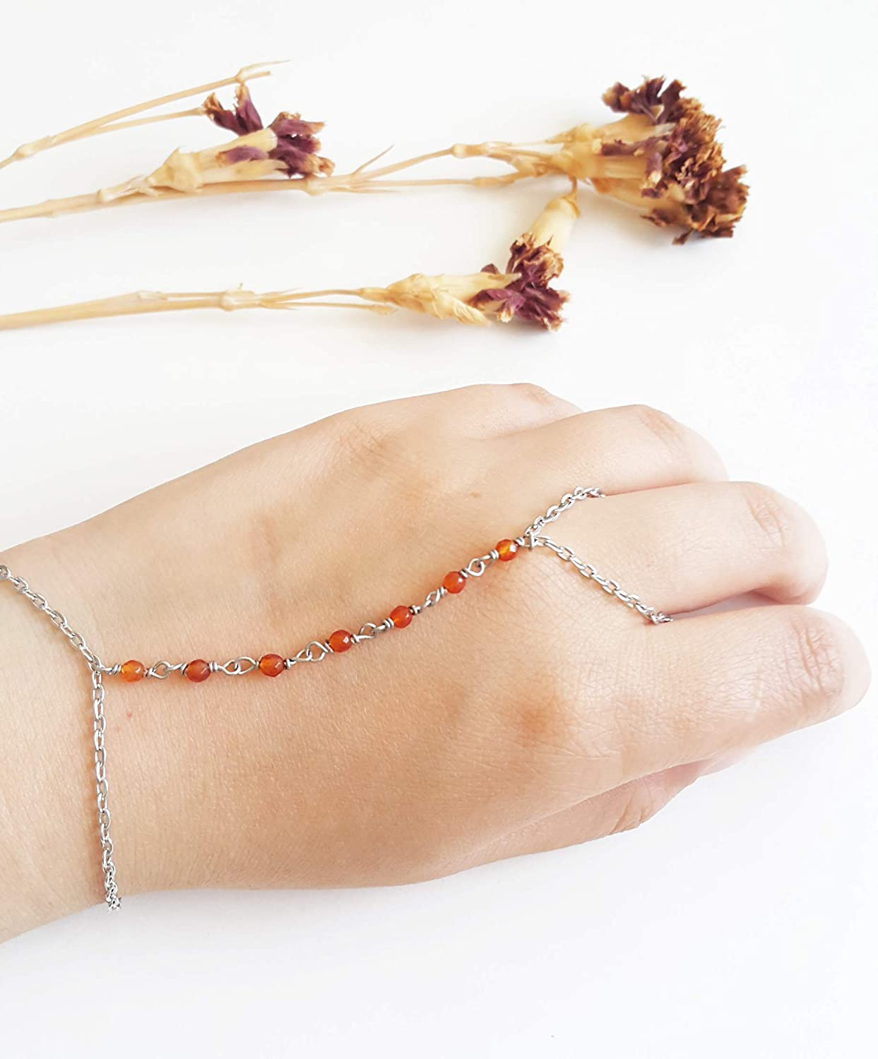 Agate slave bracelet - jewelry Tulsa Mall hand chain Delicate sold out
