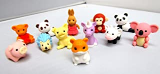 Iwako Erasers - Animal Collection 12pcs - Type B
