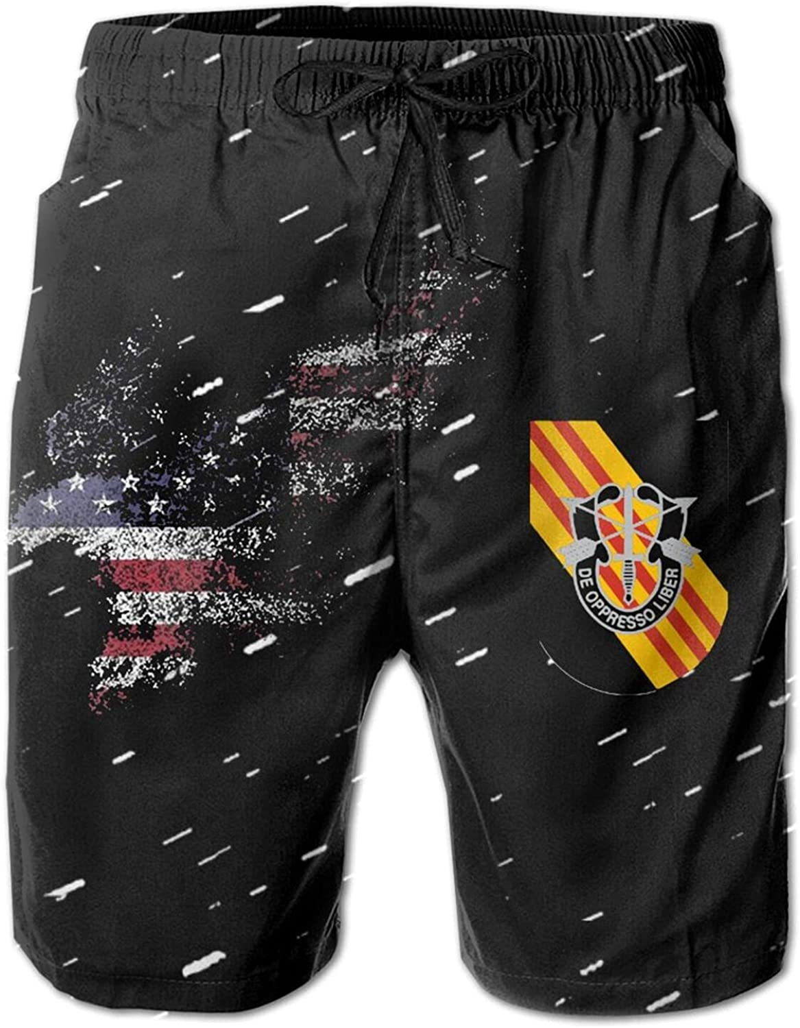 American Branded Year-end annual account goods Eagle 5th Special Forces Men's Group Sports Swim Trunks