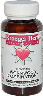 Kroeger Herb Co, The Original Wormwood Combination, 100 Veggie Caps - 2pc