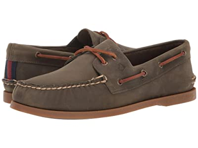 Sperry A/O 2-Eye Varsity (Olive) Men