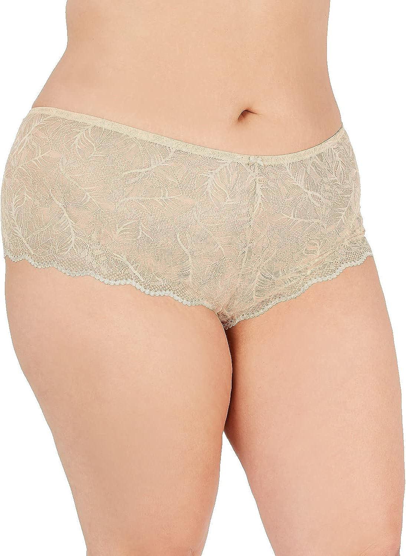 INC International Concepts Women's Lace Boyshort Panty Regular & Plus Sizes