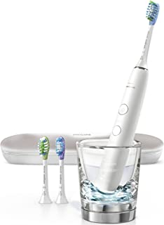 Philips Sonicare DiamondClean Smart 9300 Rechargeable Electric Toothbrush, White HX9903/01