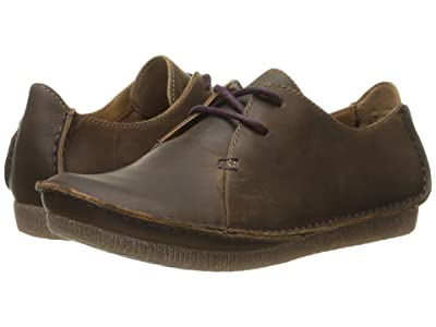 Clarks Janey Mae (Beeswax Leather) Women
