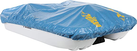 Pelican Boats Blue Vinyl Pedal Boat Mooring and Storage Cover (Pelican Monaco and Rainbow Models) (Renewed)