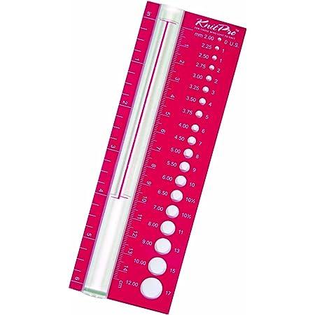 KnitPro Calibre pour Aiguilles Rouge
