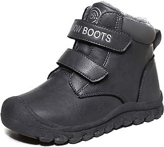 Botas de Nieve niños niñas CáLido Cómodas Botas de Invierno Forradas Antideslizante Boots