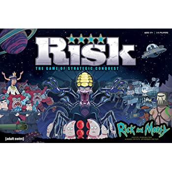 USAopoly Risk Rick & Morty Edition Board Game Juego de Mesa ...