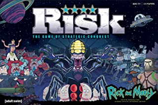 RISK Rick and Morty Risk Game | Based on the popular Adult Swim TV Show Rick & Morty | Official Rick and Morty Merchandise...