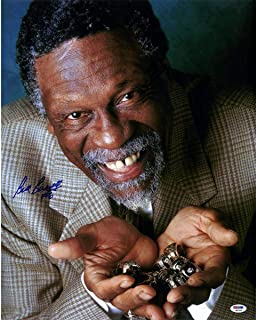 Bill Russell Boston Celtics Signed 'Rings' 16x20 Photograph () - PSA/DNA Certified - Autographed NBA Photos