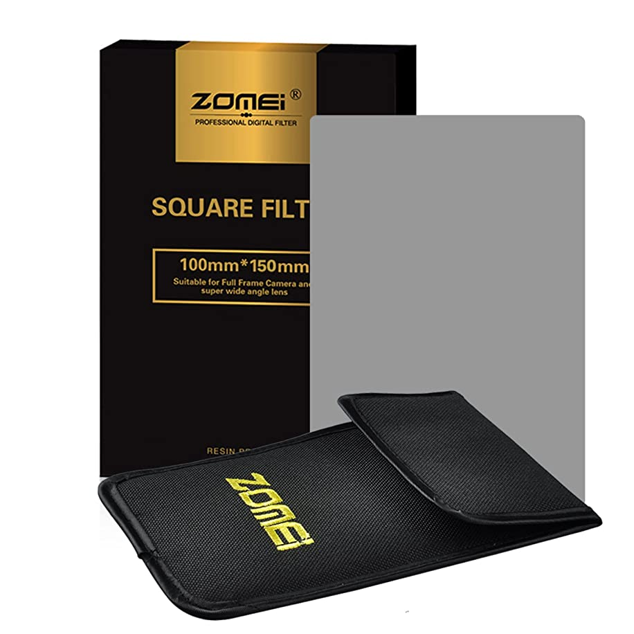 Zomei Full Grey Neutral Density ND2 Square Z-PRO Series Filter for Cokin Z Lee Hitech 4X6 Holder 150100mm