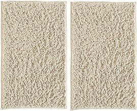 mDesign Soft Microfiber Polyester Non-Slip Rectangular Shag Mat, Plush Water Absorbent Accent Rug Bathroom Vanity, Bathtu...