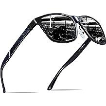 fb14d8cd567 ATTCL Men  39 s Retro Metal Frame Driving Polarized Sunglasses Al-Mg Metal