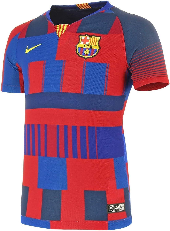 Nike 20th Anniversary FC Barcelona Women's Stadium Jersey (Deep Royal Blue/Noble Red/Tour Yellow)