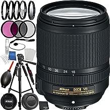 Nikon AF-S DX NIKKOR 18-140mm f/3.5-5.6G ED VR Lens Bundle with Manufacturer Accessories and Accessory Kit (25 Items)