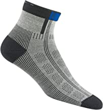 product image for Wigwam Rebel Fusion Quarter II Hiking Sock, Grey, Medium